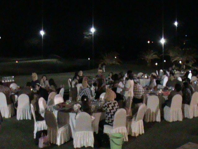 Acara jamuan makan malam di Palimanan Resto