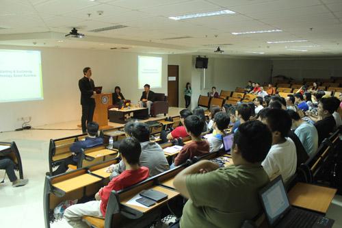 Peserta Seminar IT di Universitas Ciputra
