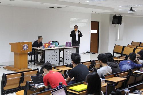 Clay Wala Milli Matter ikut memberikan seminar bersama dengan Ijo Wira di Universitas Ciputra