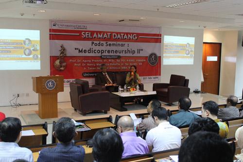 Pembicara Medicopreneurship universitas ciputra