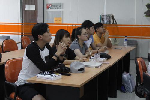 Peserta Dongseo University di UC